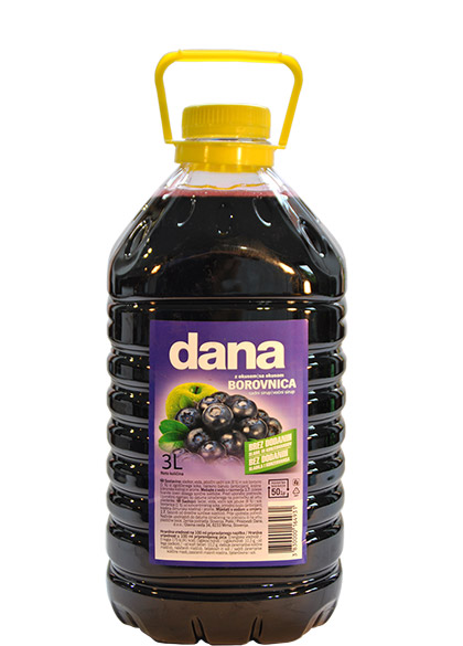 DANA, fruit syrup, blueberry