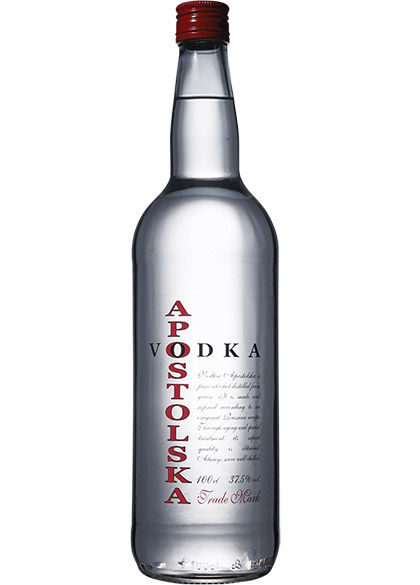 VODKA APOSTOLSKA 37,5 %