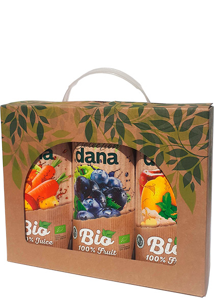 BIO gifts, 100 % juice