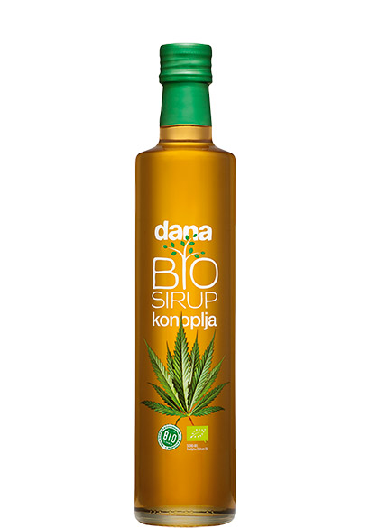 DANA BIO cannabis herbal syrup