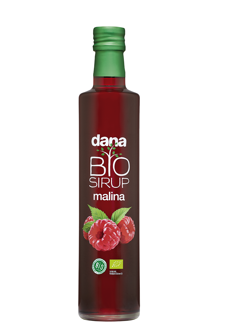 DANA, BIO fruit syrup, raspberry