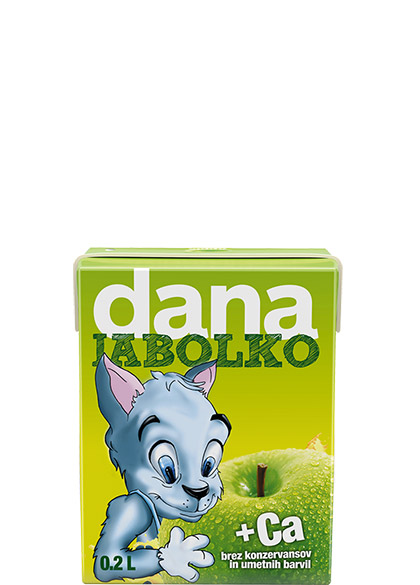 DANA fruit drink 10%, apple