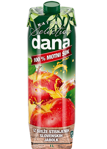 DANA 100% freshly squeezed juice, apple