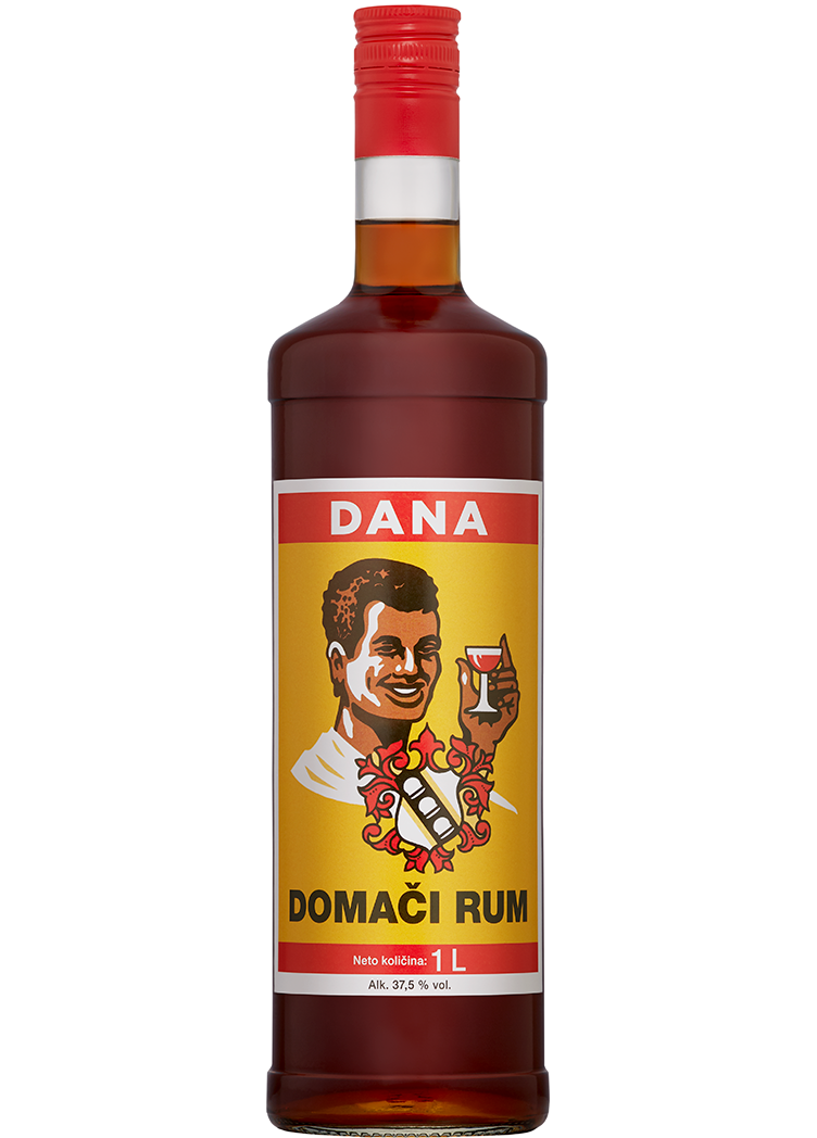 DOMAČI RUM, spirit drink, 37.5%