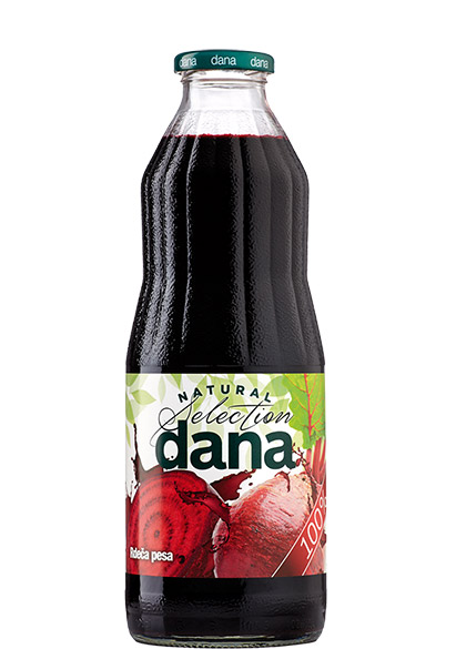 DANA 100 %  zelenjavni sok, rdeča pesa