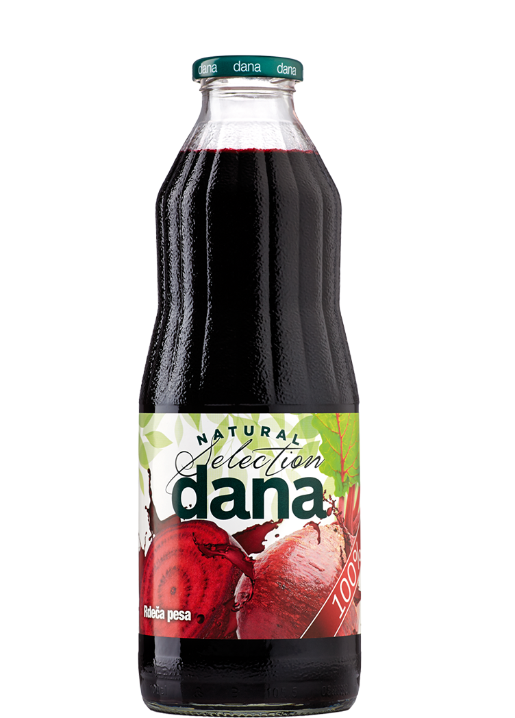 DANA 100% vegetable juice, beetroot