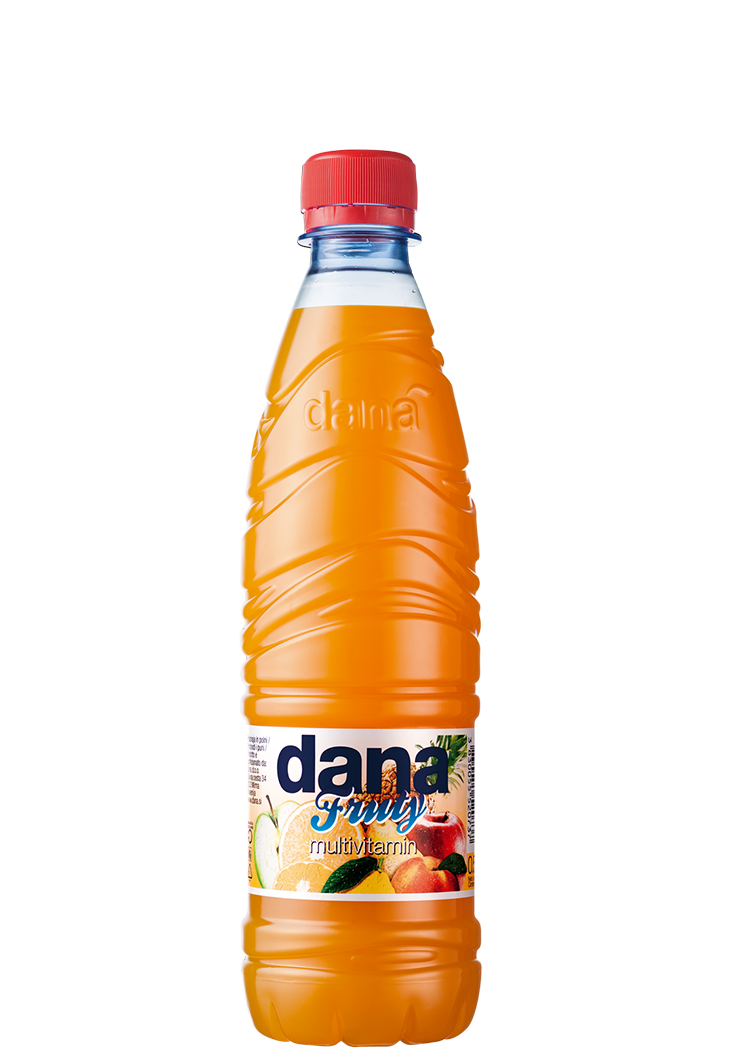 DANA FRUTY fruit drink 3%, multivitamin