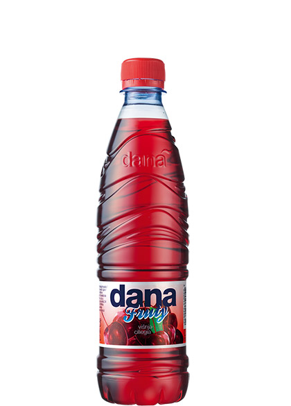 DANA FRUTY fruit drink 3%, sour cherry