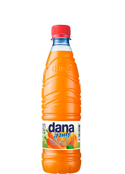 Dana FRUTY, fruit drink, carrot, orange, lemon