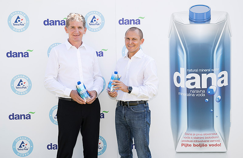 Tetra Pak® and Dana introduce natural mineral water in innovative carton packages