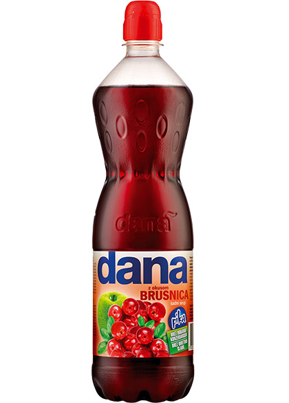 DANA, fruit syrup, cranberry