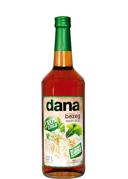 DANA, fruit syrup, elder