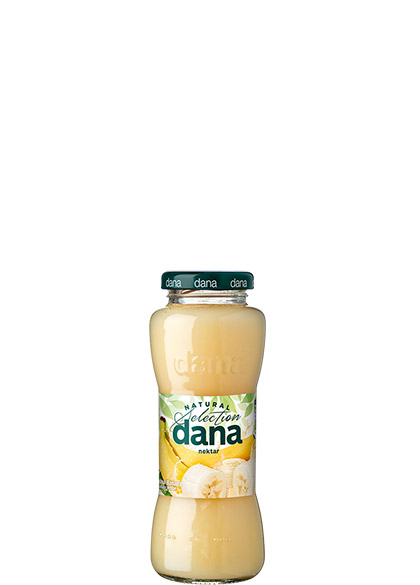 DANA nectar 25%, banana, lemon