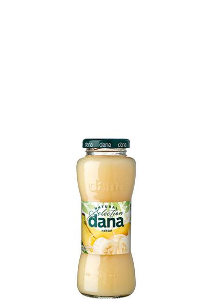 DANA nektar 25 %, banana, limona