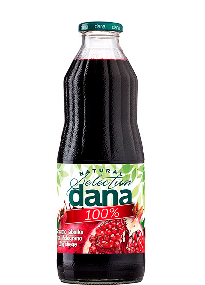 DANA 100% juice, pomegranate